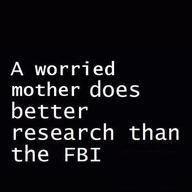 worried mom - FBI