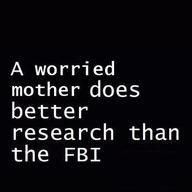 worried mom - FBI