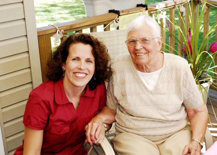 Grandma's 90th birthday on 2010