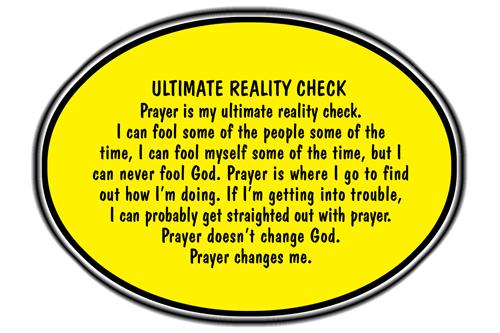 Ultimate-reality-check