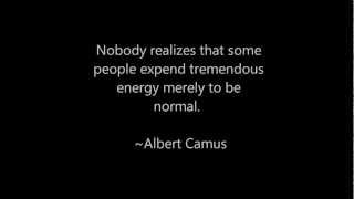 energy to be normal
