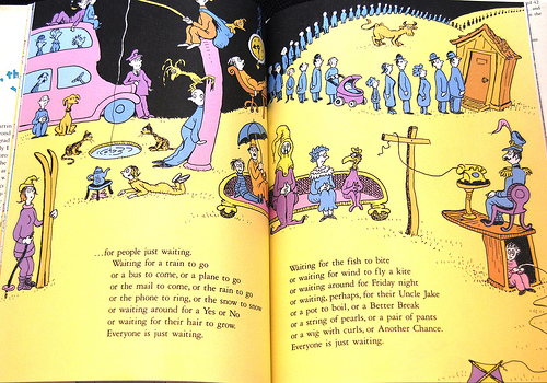"""An excerpt from one of my favorite Dr. Seuss books, """"Oh the Places You'll go!"""""""