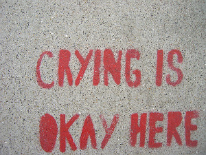 crying is ok