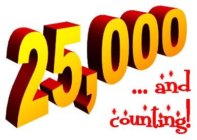 25,000 blog views milestone - top injury law blog