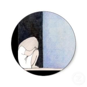hide in corner