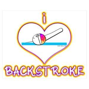 i love backstroke