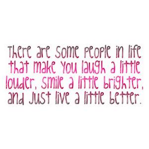 laugh a little louder