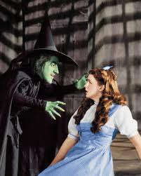 wizard of oz dorothy and witch