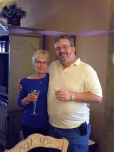 Mom and Ken anniversary