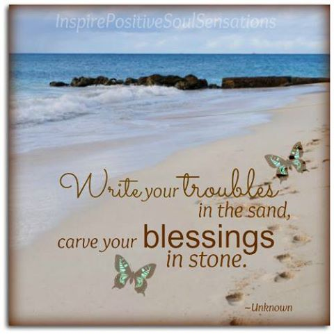 troubles and blessings