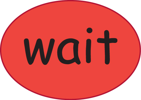 wait card 1