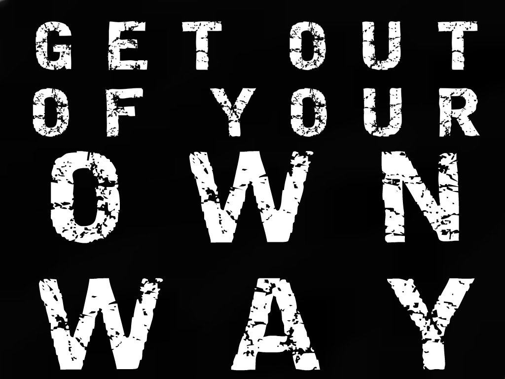 My way on own