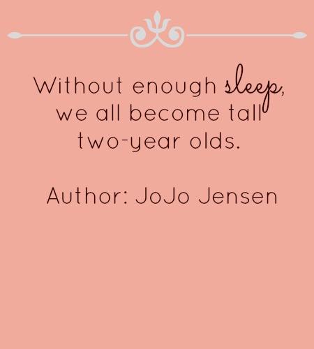 without sleep