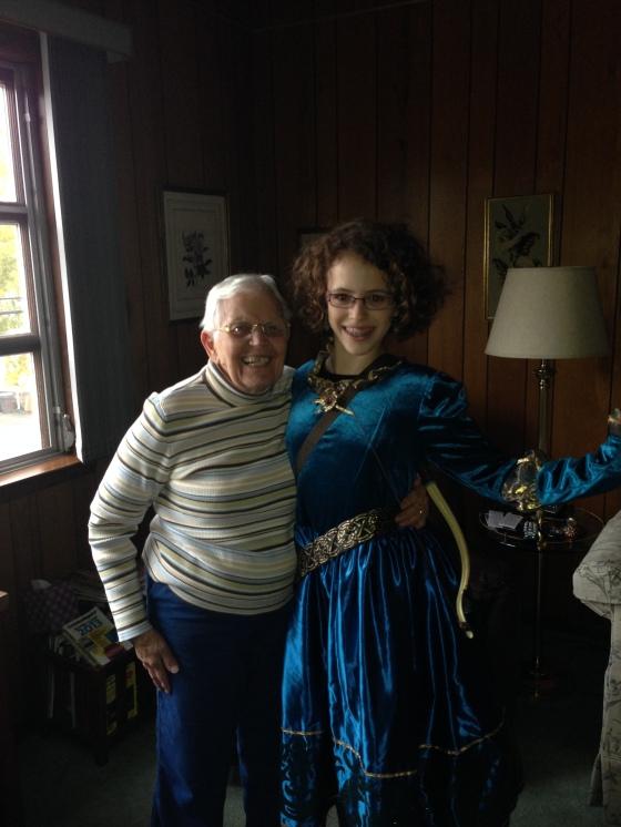 My Grandma with Meghan.
