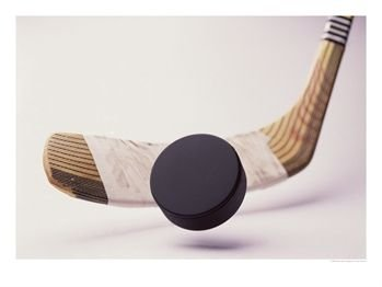 Hockey-Stick-and-Puck-Photographic-Print-C11950881