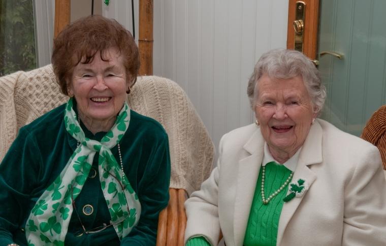 Grandma and Aunt Shirley