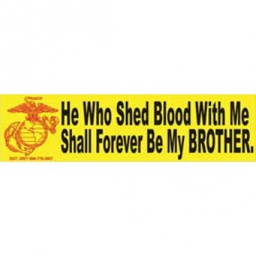 he who shed blood with me