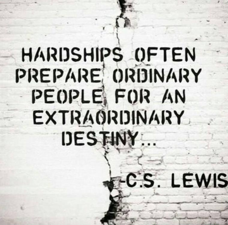 cs lewis hardship