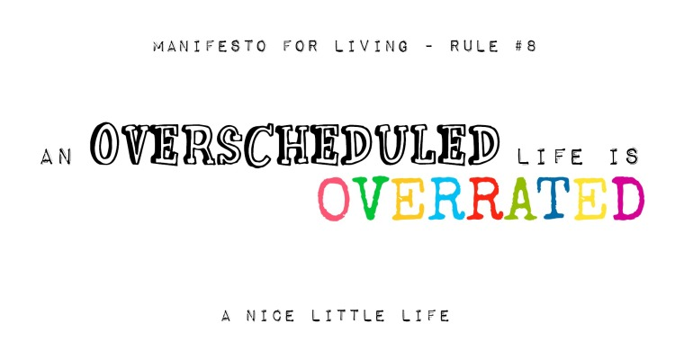 overscheduled