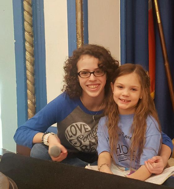 Meghan and Emma